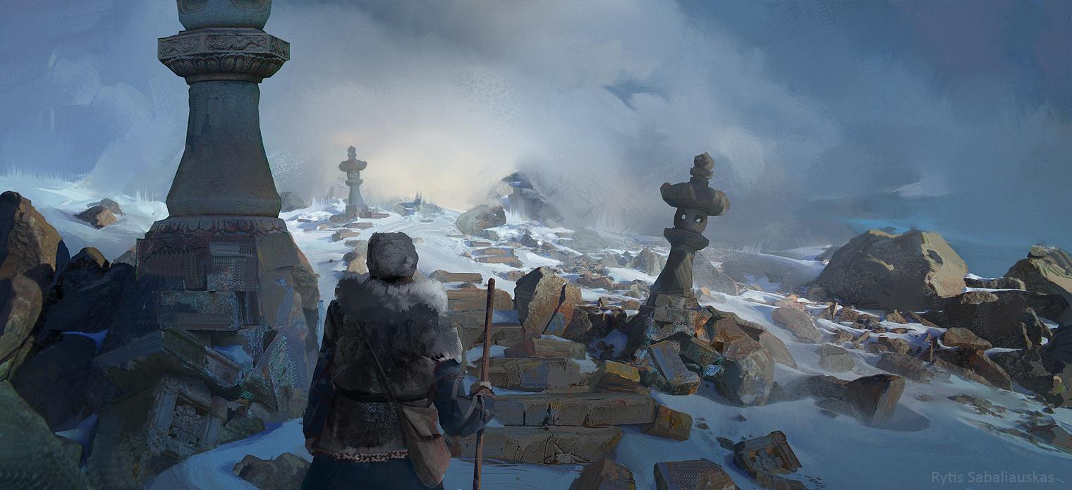 Ice Road 1 by MrFloki