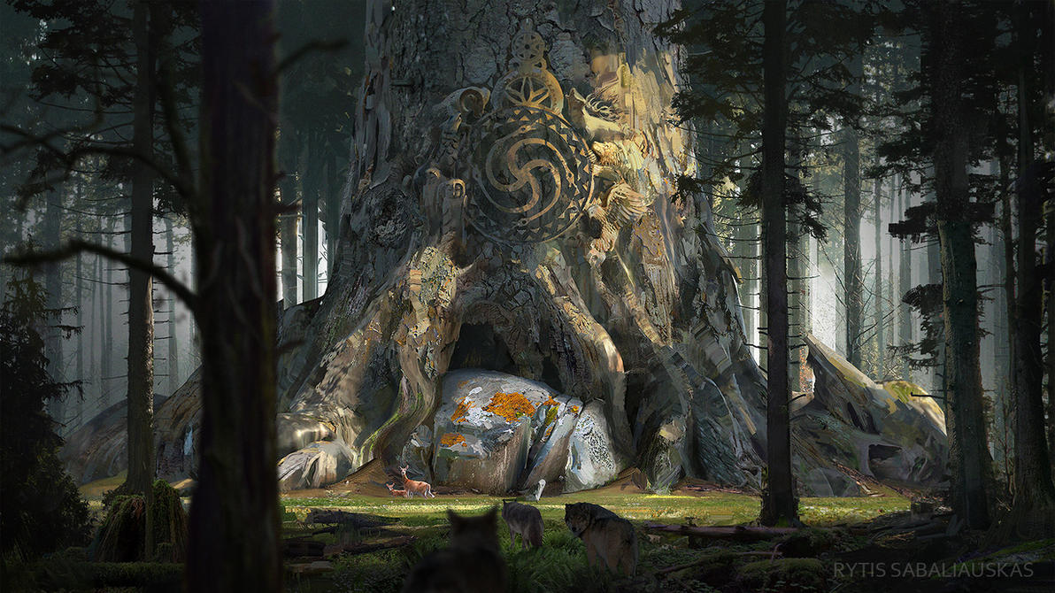 Gods of the past 5 by MrFloki