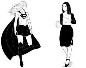 supercorp illustrations 1/?