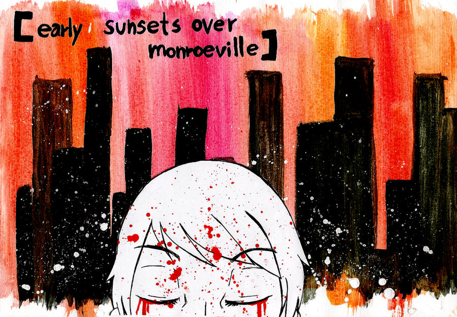 Early Sunsets over Monroeville by StardustSavior