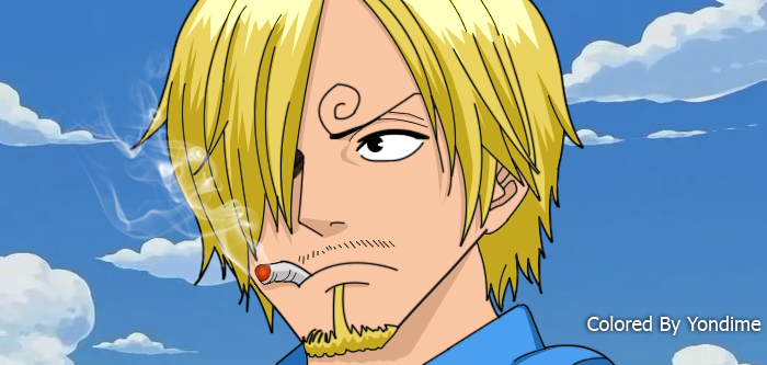 Sanji After 2 years by Yondime on DeviantArt