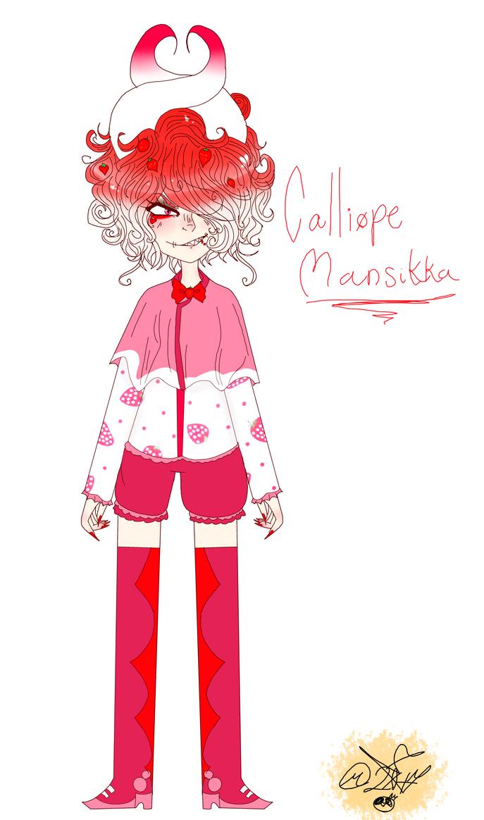 My Weird OC: Calliope by MikuBlazeTheKat