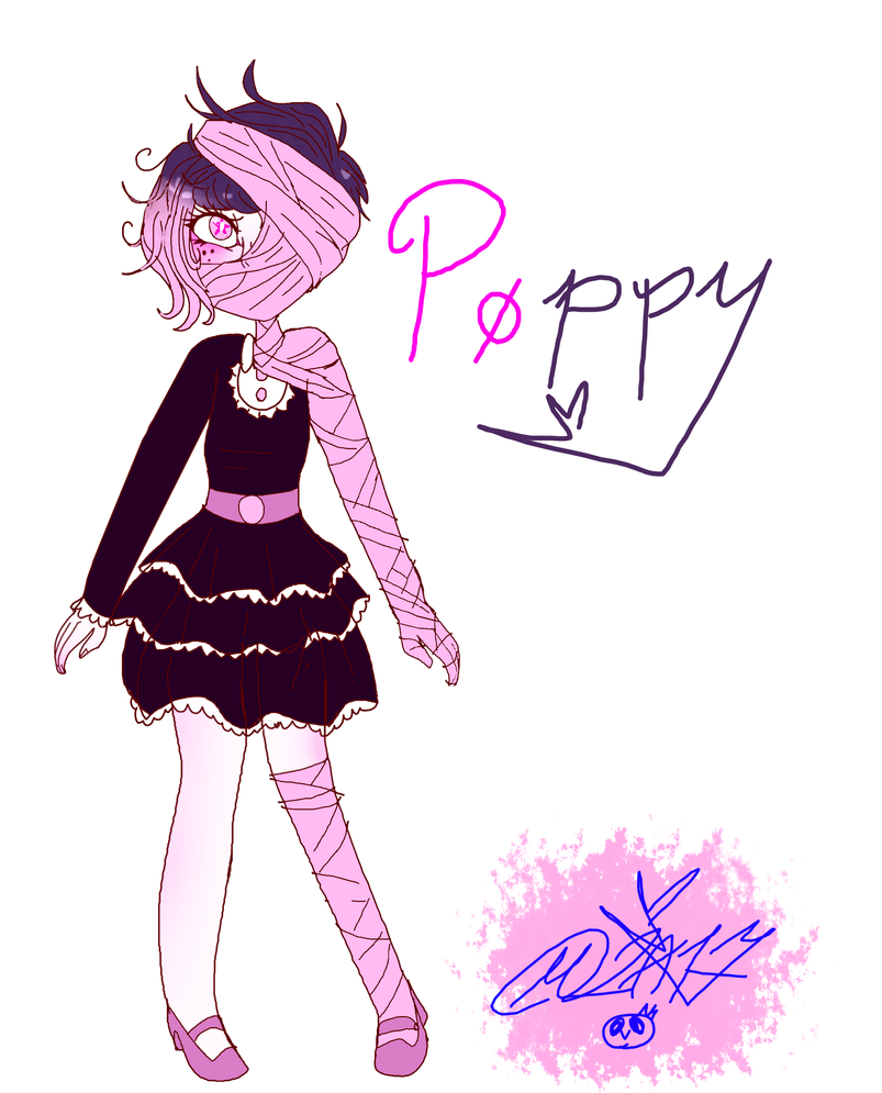 My Weird OC: Poppy by MikuBlazeTheKat