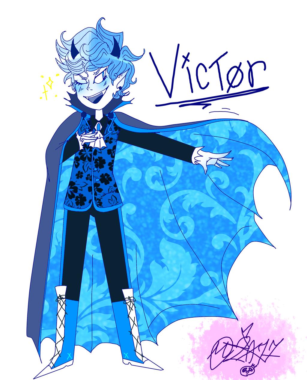 My Weird OC: Victor by MikuBlazeTheKat