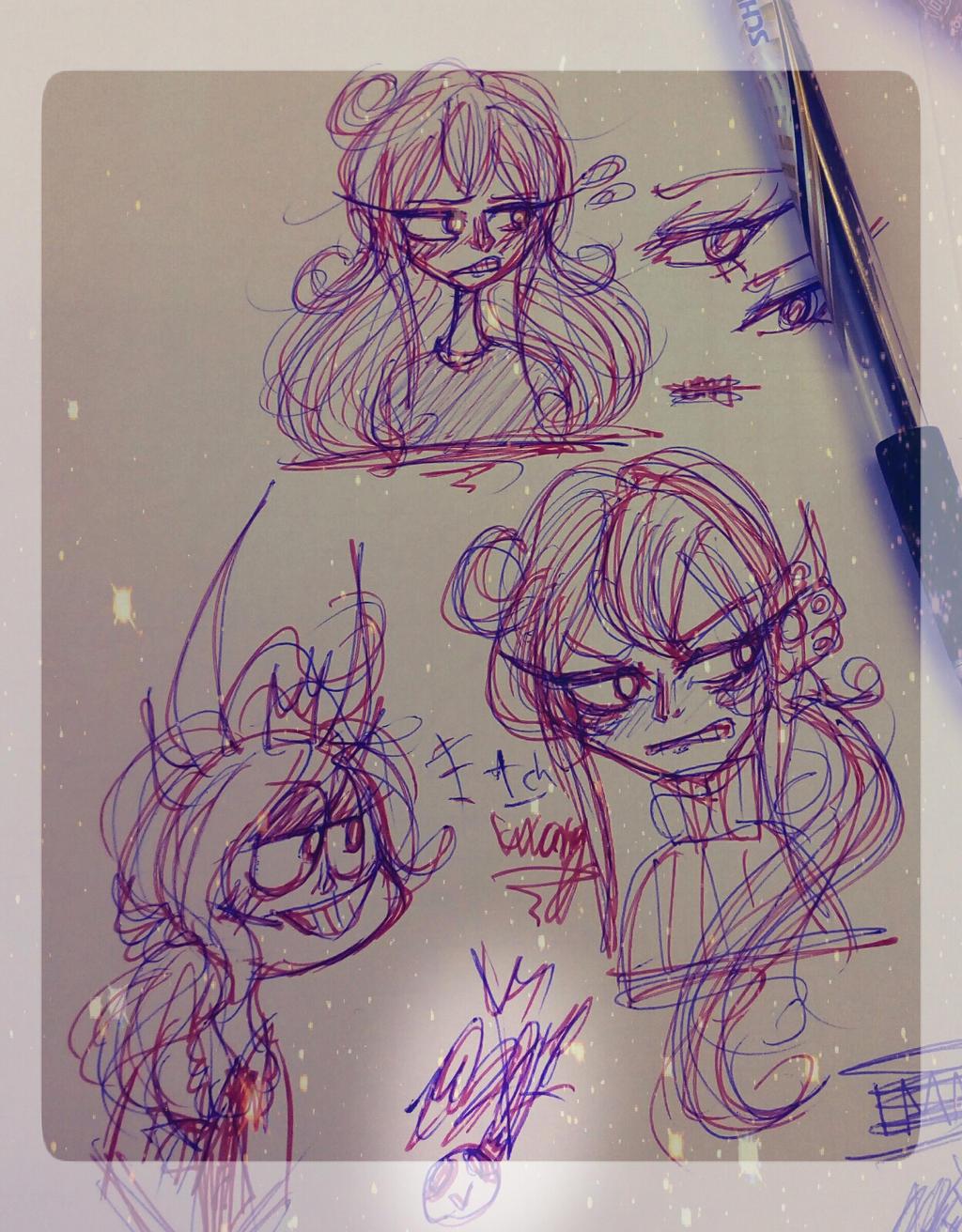 -more doodleshh- by MikuBlazeTheKat
