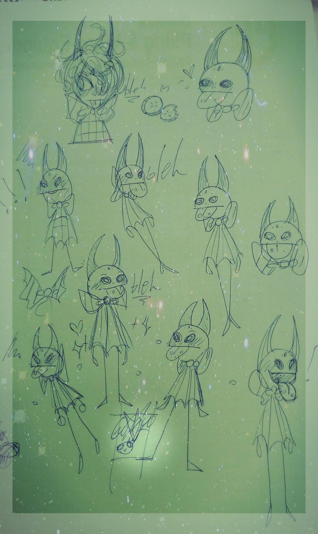 -bleh doodleshh- by MikuBlazeTheKat