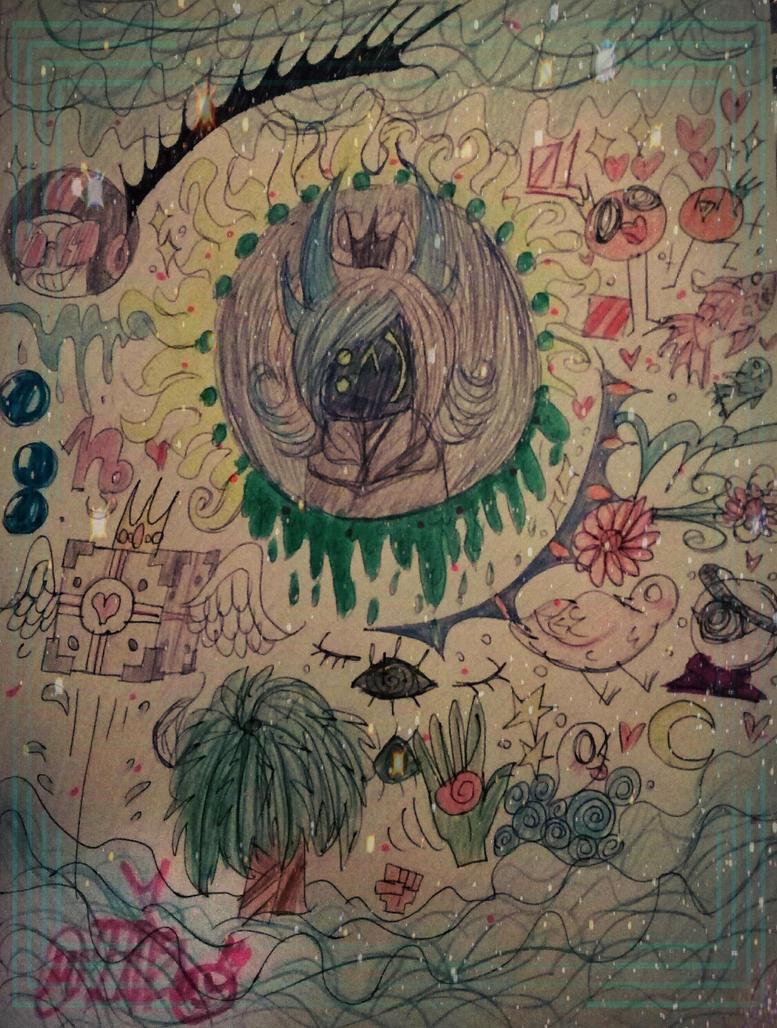 -messy doodleshhh- by MikuBlazeTheKat