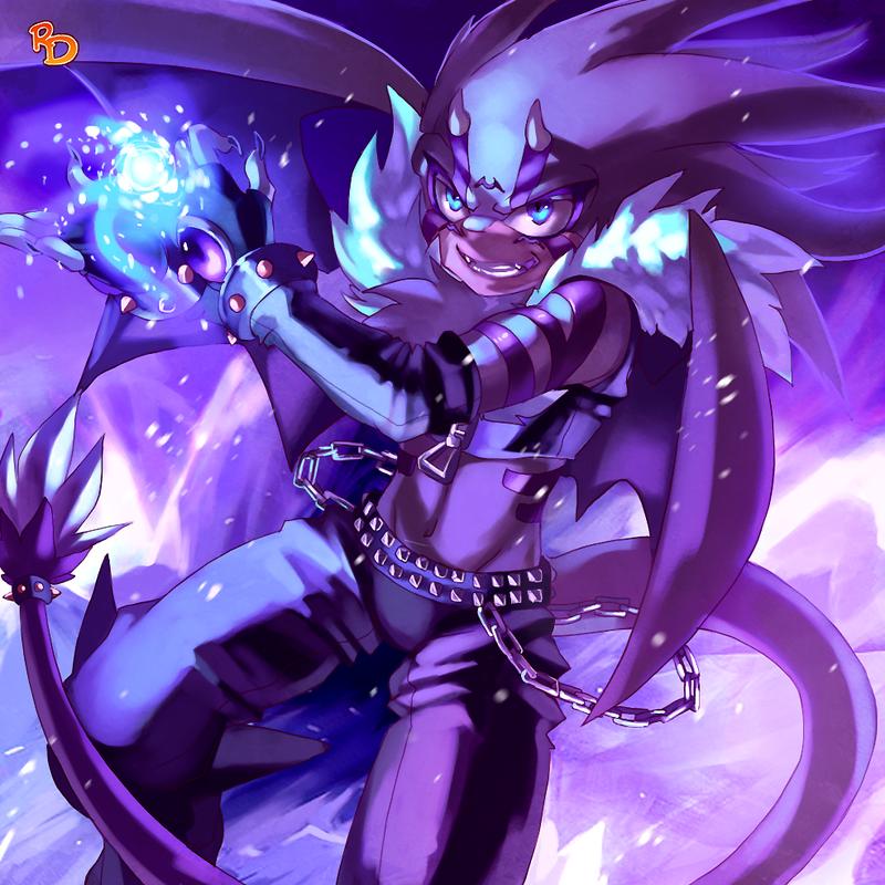 :Elemental guardian - Ice: by RoksanaTH