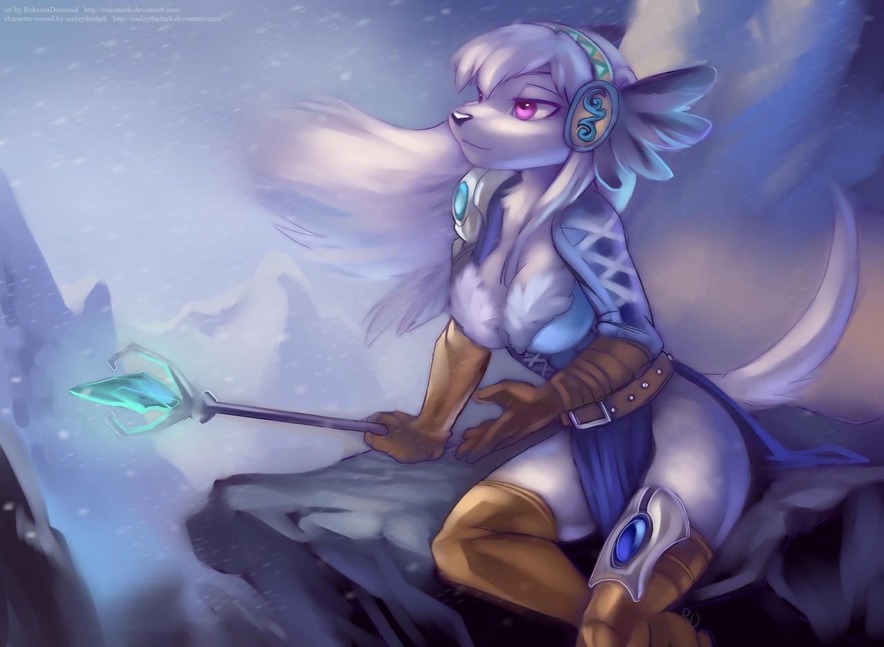 Frozen Twilight by RoksanaTH