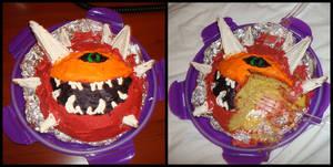 cacodemon cake.