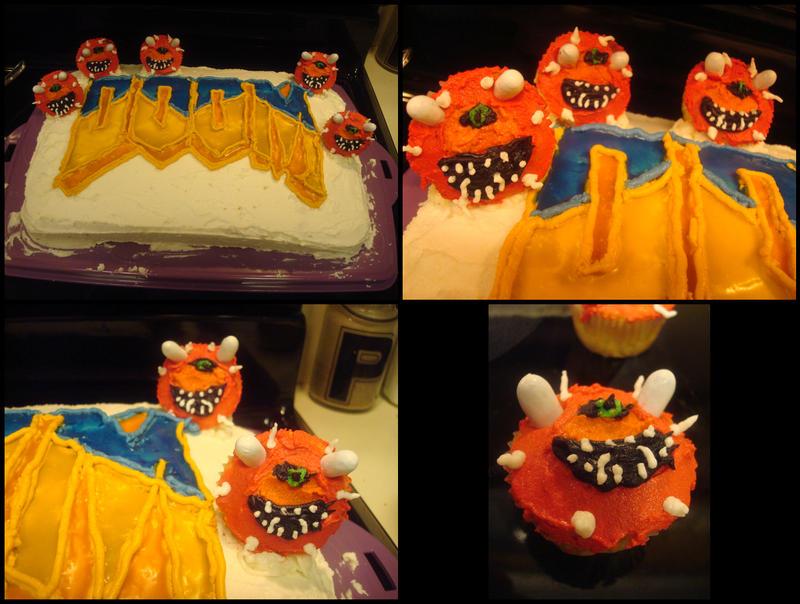 doom cake.