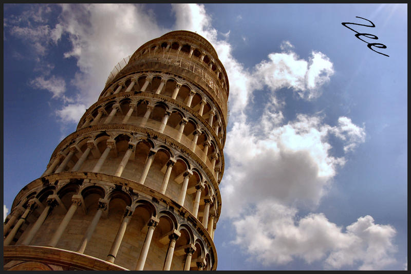 Leaning Tower of Pisa by CRIMSONlipstain