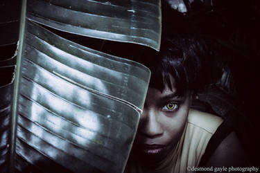 Vixen on the prowl. by Kamikazemiko