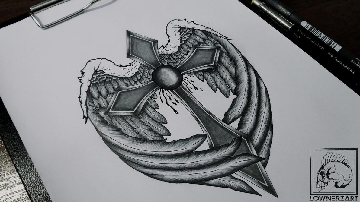 Cross Wings by lownerz on DeviantArt
