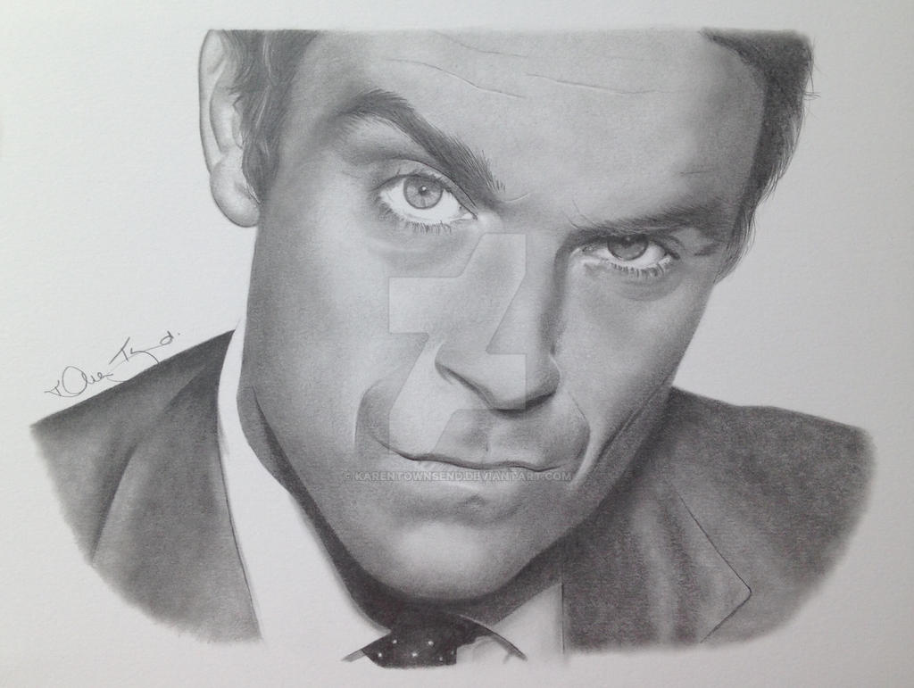 Robbie Williams by Karentownsend