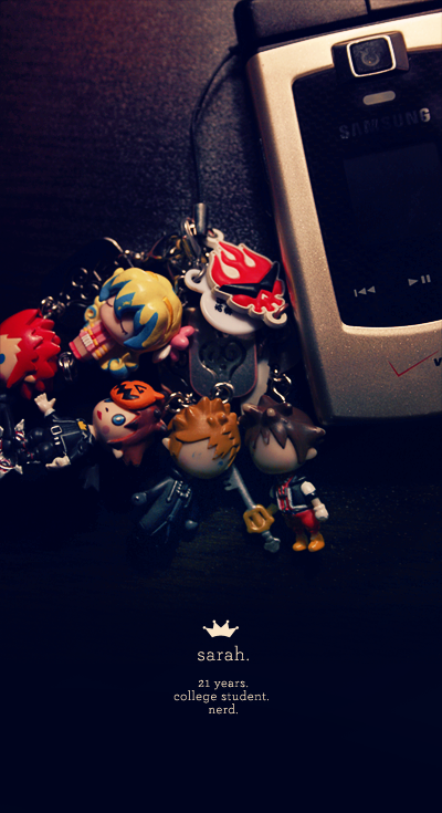 dA ID :: Cell Phone Charms by sorairo-days