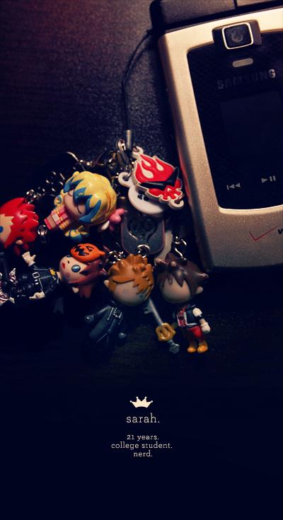 dA ID :: Cell Phone Charms by sorairo-days