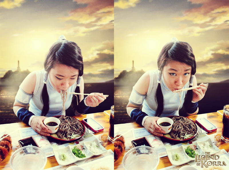 LoK: Noodle Time by sorairo-days