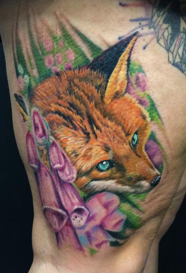Fox by kayleytatts