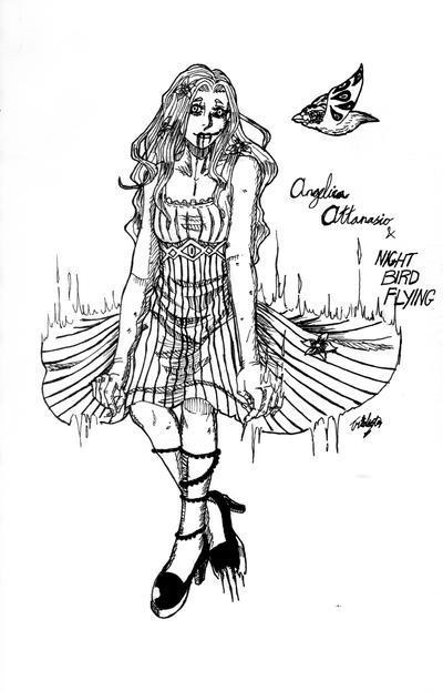 Angelica Attanasio and Night Bird Flying by UmiMizuno