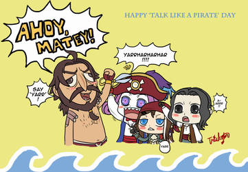 Happy Talk Like a Pirate Day by UmiMizuno
