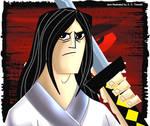 Samurai Jack with Logo