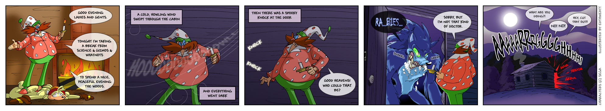 037: The Scariest Thing part 5 by thweatted