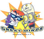 Great minds?