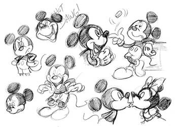 mickey the mouse by thweatted