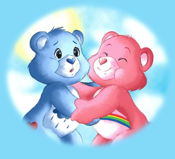 Care Bears Wallpaper: Carebear Hug 2004 By Thweatted On DeviantArt