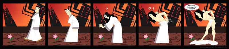 Samurai Comic Strip by thweatted