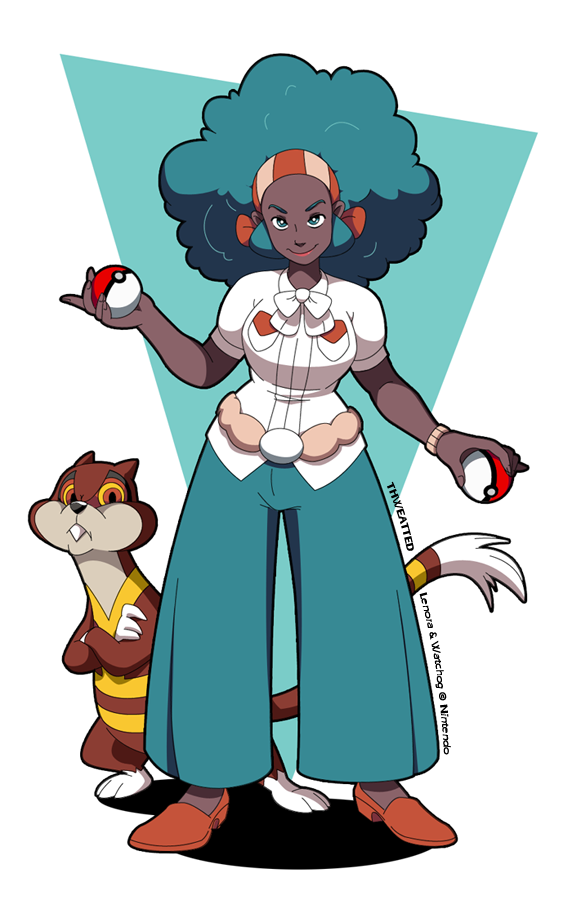 Lenora and Watchog by thweatted on DeviantArt