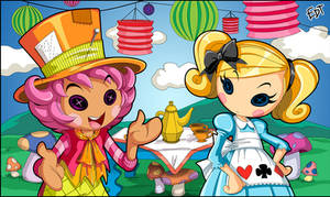 Wacky Hatter and Alice in Lalaloopsyland