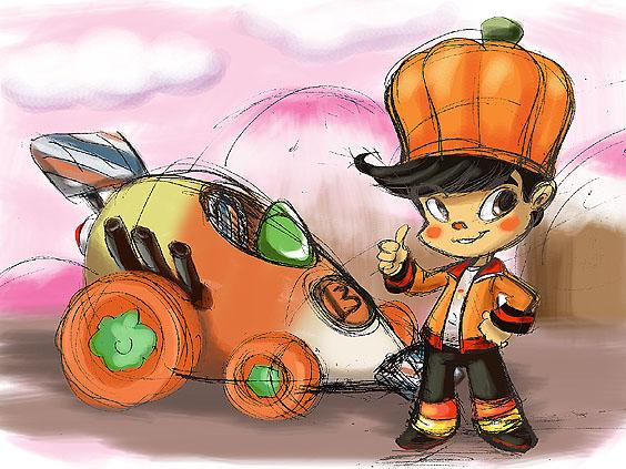 Sugar Rush: Gloyd Orangeboar by thweatted