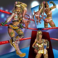 Create-A-Wrestler: Rose Gold