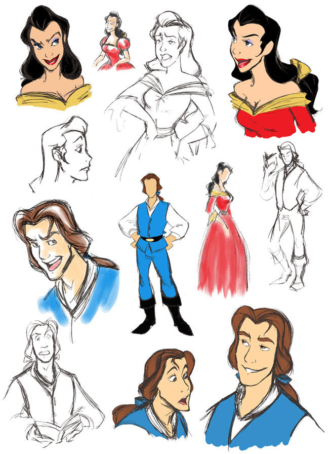 Beauty And The Beast Disney Favourites By Biruka On DeviantArt