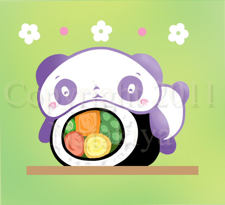 Sushi Panda by Natakiya