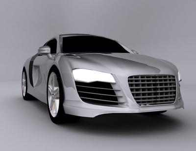 3d'd an Audi by darcnight44