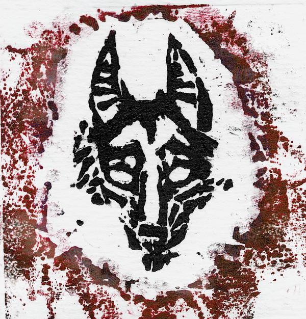 dog print by InferorumCanis
