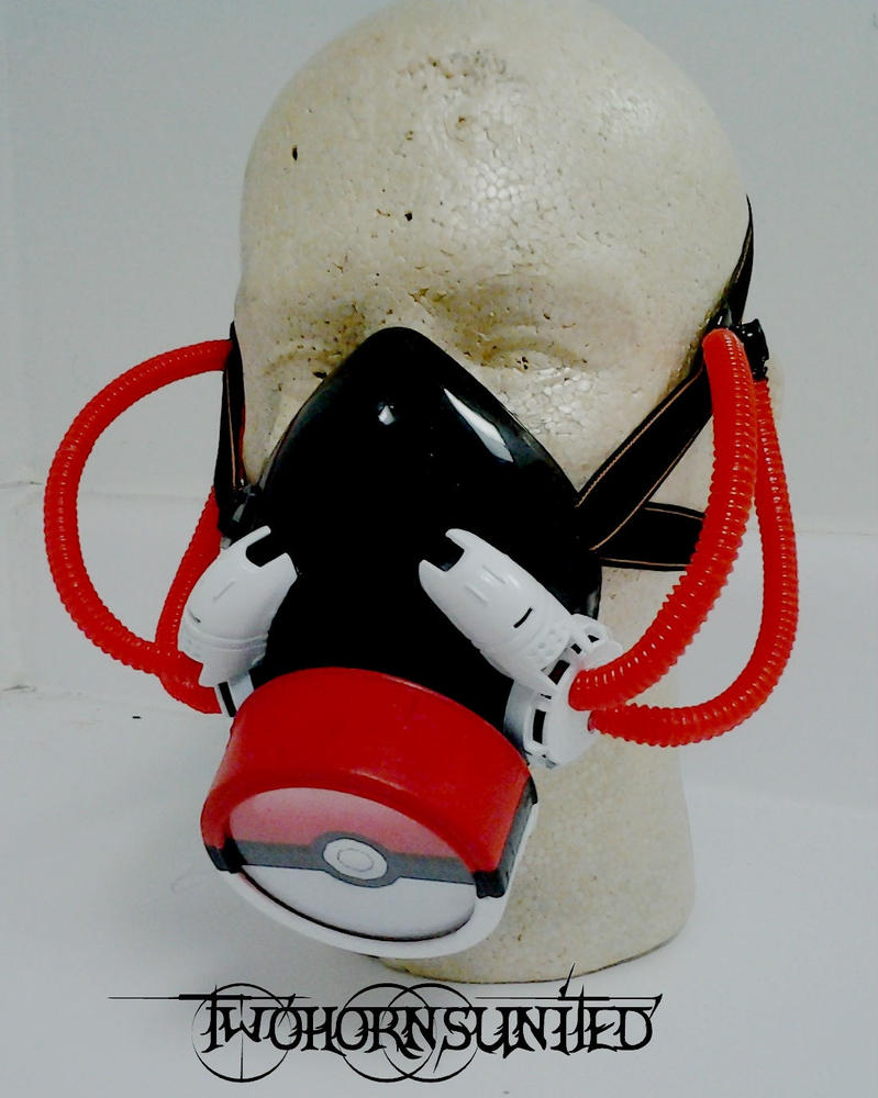 Yup...Pokeball gas mask by TwoHornsUnited