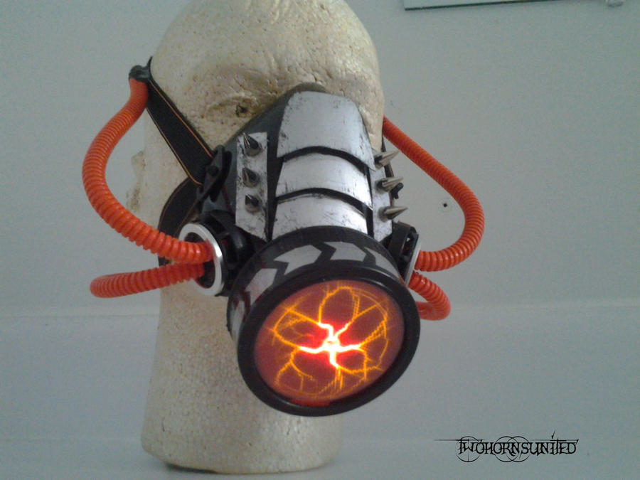 Nexus Cyber industrial Gas mask by TwoHornsUnited
