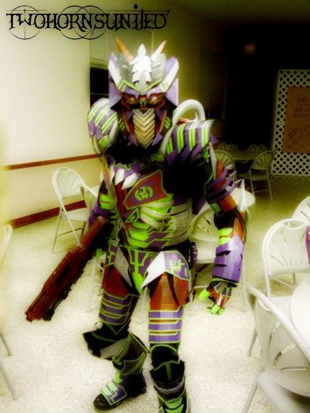 Alien Assassin costume by TwoHornsUnited