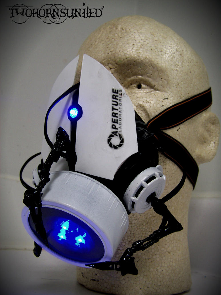 The Aperture Science''portal gun'' gas mask v1 by TwoHornsUnited
