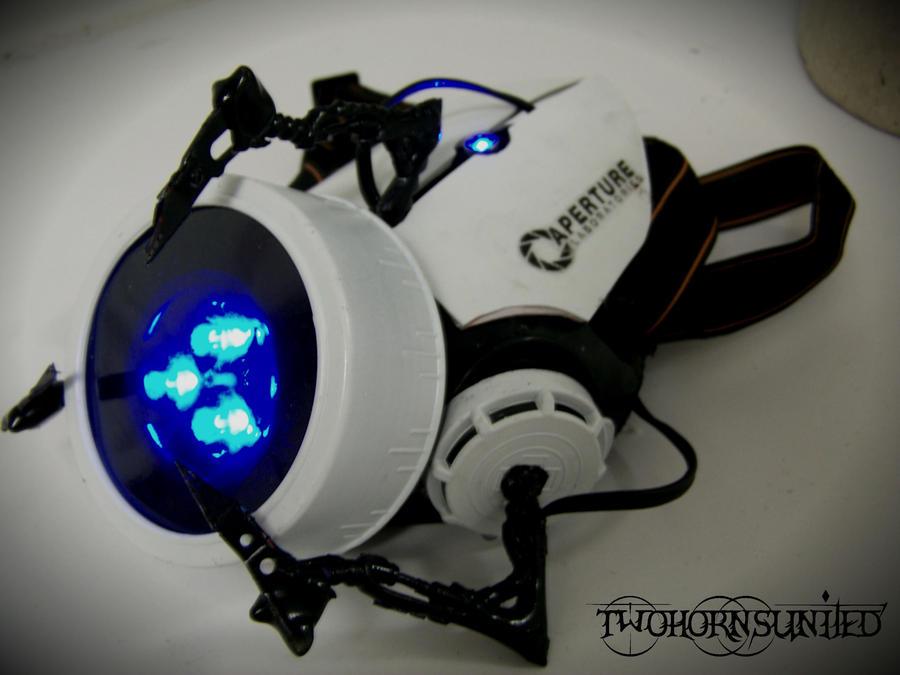 The Aperture Science''portal gun'' gas mask v1 by TwoHornsUnited