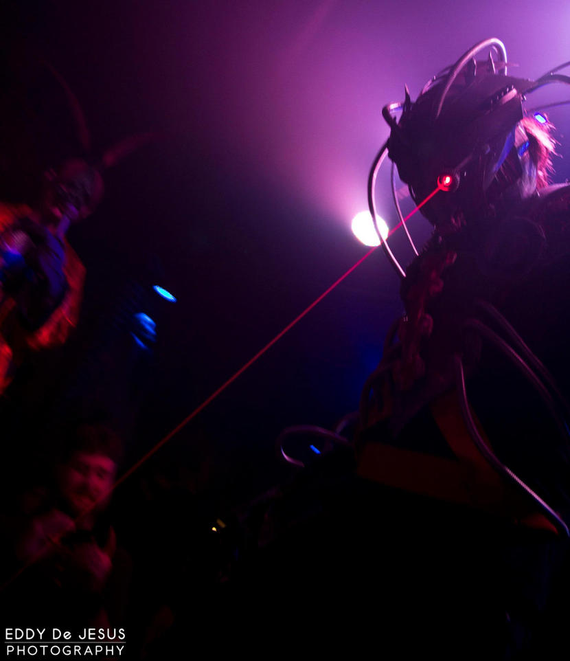 ''The Experiment'' Original demon costume by TwoHornsUnited
