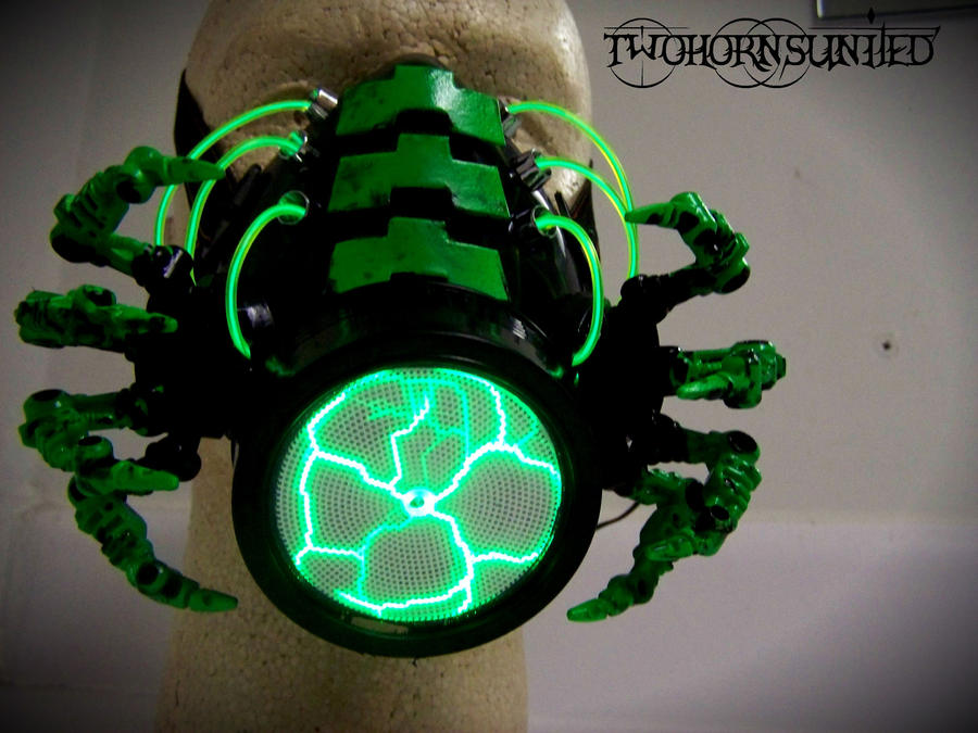 The facehugger cybernetic alien gas mask by twohornsunited on the facehugger cybernetic alien gas mask by twohornsunited voltagebd Images