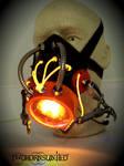 ''Synthetic Locust'' Cybernetic Alien gas mask