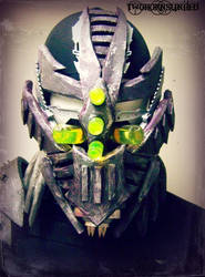 ''Exoplanet'' gas mask/half face DJ mask by TwoHornsUnited