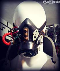 ''Cybernaut'' Cyberpunk apocalypse Respirator! by TwoHornsUnited