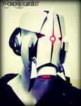 The Aperture Science Sentry turret soldier helmet